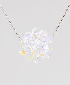 Boule Swarovski cristal shimmer   Bijoux CB